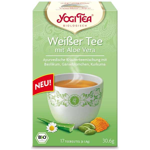Yogi Tea Weißer Tee mit Aloe Vera