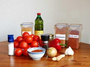 Zutaten Currysauce