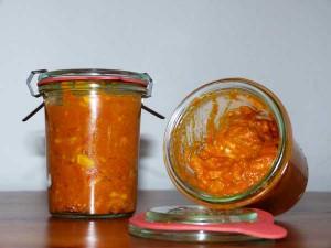 Currysauce im Weckglas