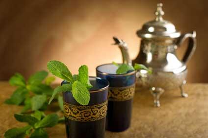 Teezubereitung in Marokko