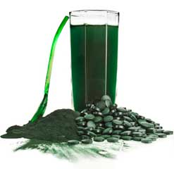 Spirulina: Pulver, Tabletten, Getränk