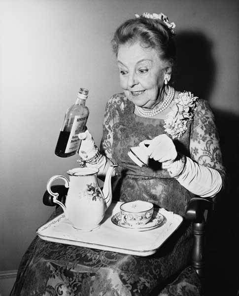 Tee oder Schnaps für die Verdauung?