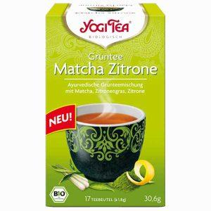 Yogi Grüntee Matcha Zitrone