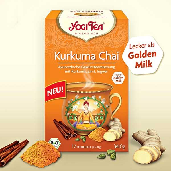 Yogi Tea® Kurkuma Chai Tea