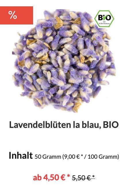 Lavendelblüten Bio kaufen
