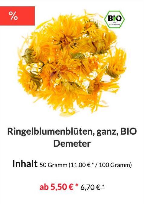 Ringelblüten Bio in Demeter Qualität kaufen