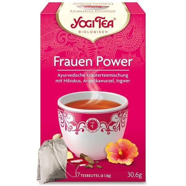 Yogi Tee Frauen Power Tea