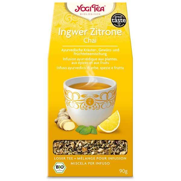 Yogi Tee® Ingwer Zitrone Chai
