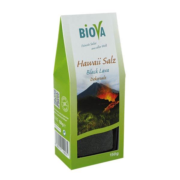 Hawaii Salz Black Lava