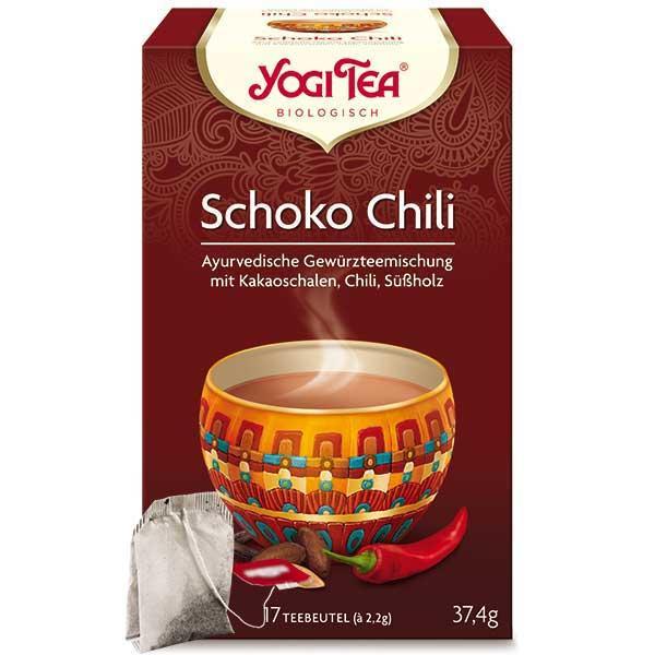 Yogi Tee Schoko Chili