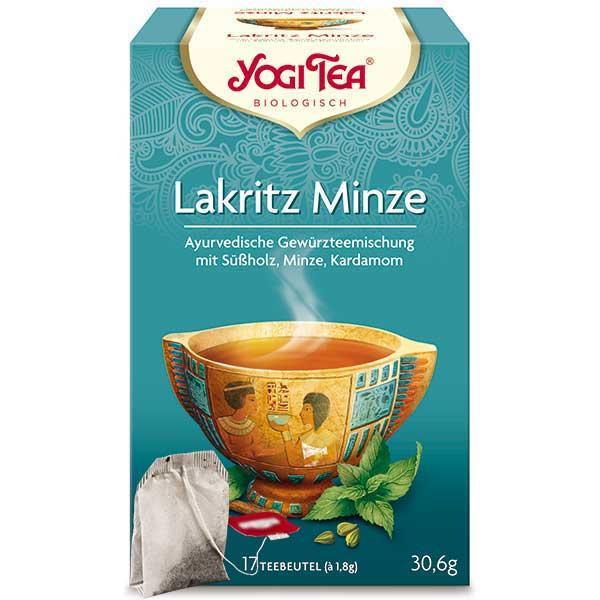 Yogi Tee Lakritz Minze Tea