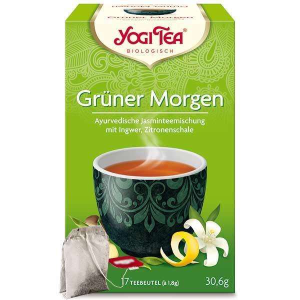 Yogi Tee Grüner Morgen Tea