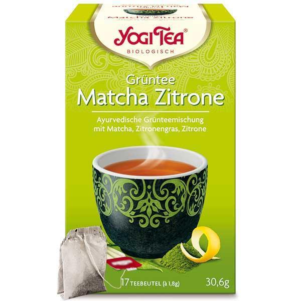 Yogi Tee Grüntee Matcha Zitrone Tea