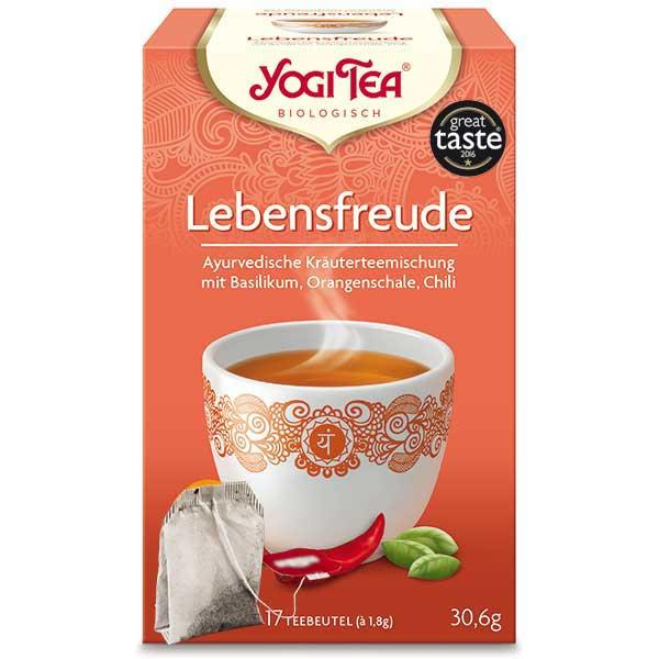 Yogi Tee Lebensfreude Tea