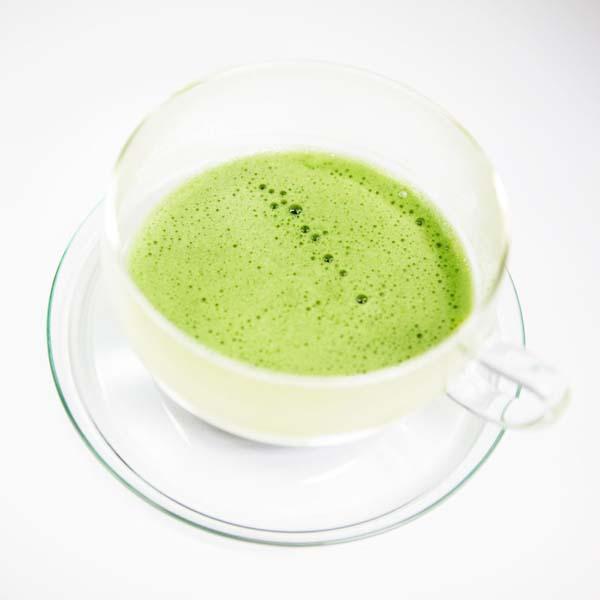 Matcha-Tee Uji Premium, Glas