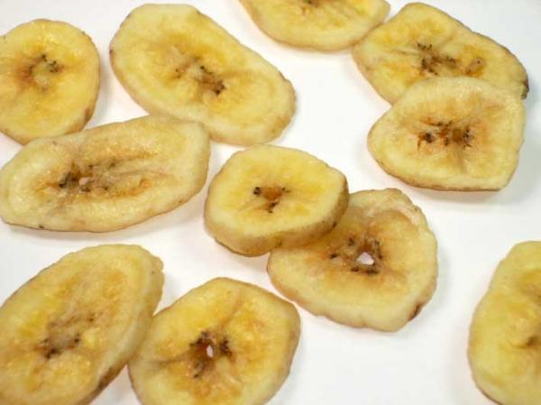 Bananenchips mit Honig