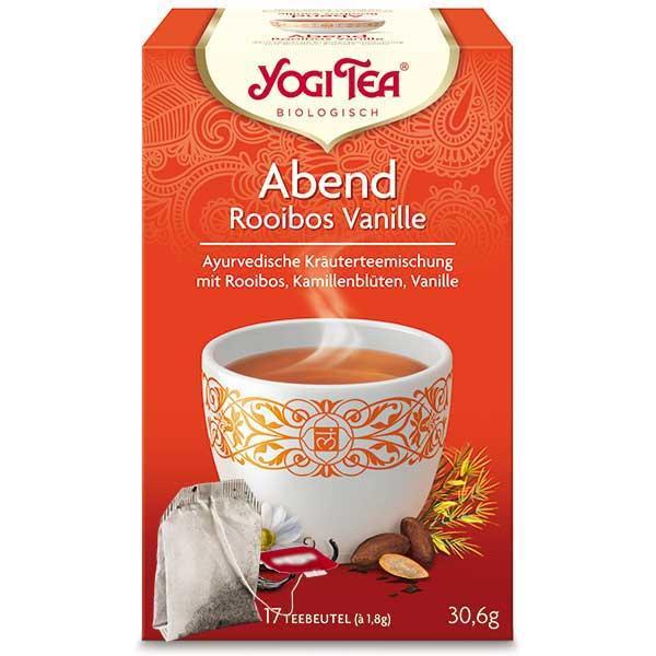 Yogi Tea Abend Rooibos Vanille Tee