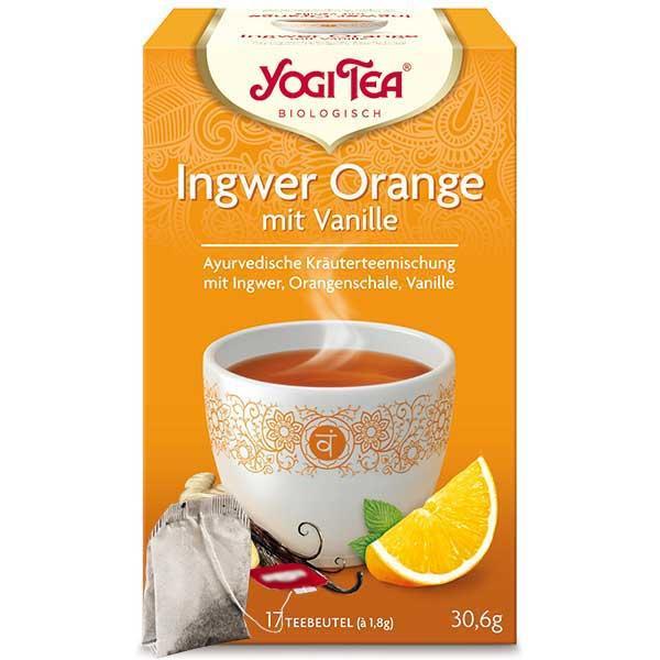 Yogi Tee Ingwer Orange Tea