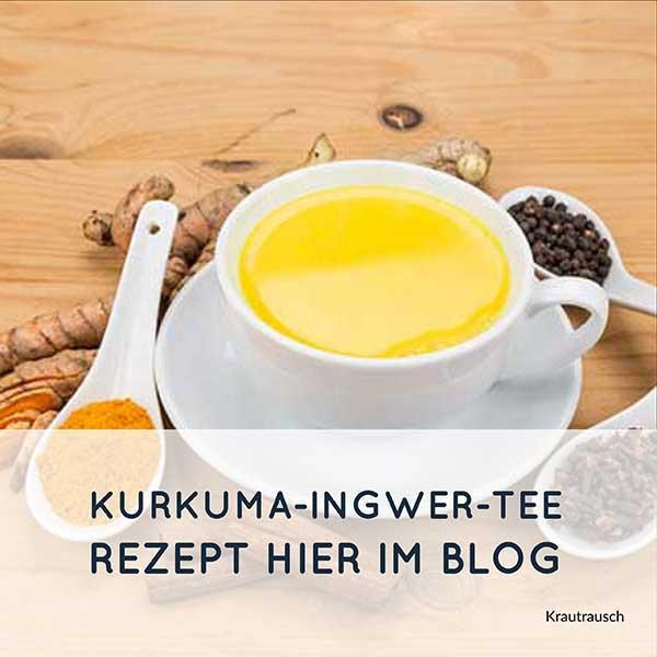 Kurkuma Ingwer Tee Infos Und Tipps Krautrausch Blog